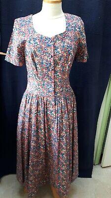 ID 298 Size 18 Liberty print Tana Lawn by Thomas /& Jonathan s//s dress