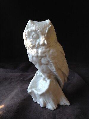 KAISER Porcelain Bisque Owl #577 W GAWANTKA