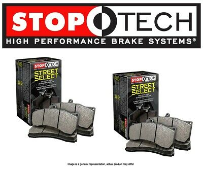 STOPTECH Street Performance Brake Pads EVO X w//BREMBO STP9348 FRONT + REAR SET