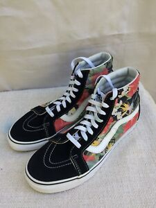 f7aa104b99c6c9 Vans SK8-Hi Floral   black Shoes women s size 10.5 men s size 9