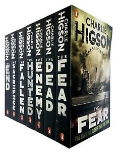 Charlie-Higson-039-s-7-Books-Collection-The-Enemy-Series-The-End-The-Hunted-NEW