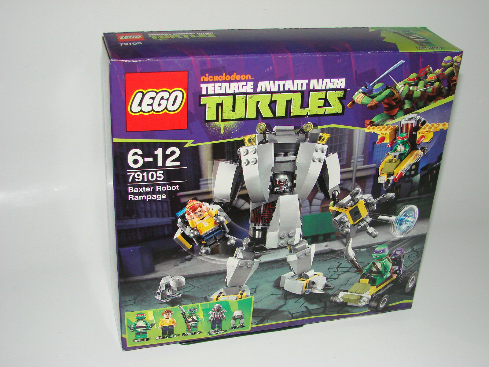 LEGO ® 79105 TURTLES BAXTER  ROBOT RAMPAGE NUOVO OVP nuovo MISB NRFB  tempo libero