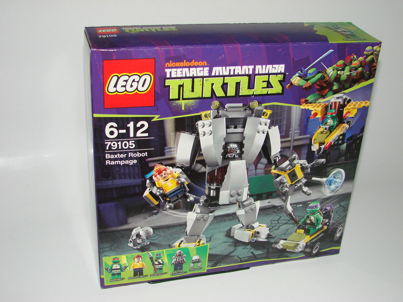 LEGO ® 79105 TURTLES BAXTER ROBOT RAMPAGE NUOVO OVP NEW MISB NRFB