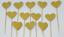12-Paillettes-Coeur-Cupcake-Toppers-Parti-Decoration-cup-cake-topper-Food-drapeaux miniature 15