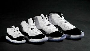 2897892f2b30 2018 Nike Air Jordan 11 XI Retro Concord 3c-14 White Black 378037 ...