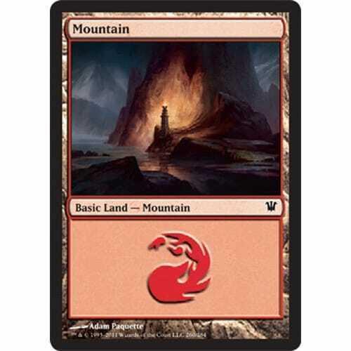 Mountain #260 MTG INNISTRAD