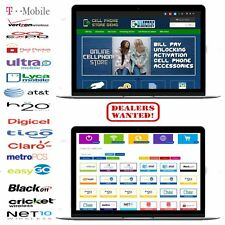 MULTI CARRIER CELL PHONE STORE - BILL PAY/ UNLOCKING/ ACTIVATION + DEALER CODE