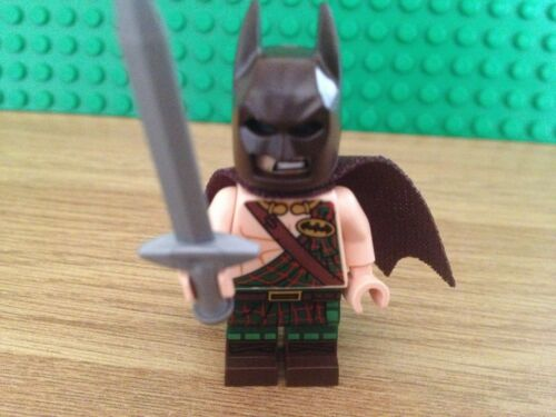 LEGO MINI FIGURES; il film di Batman Rare Tartan BATMAN