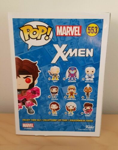 X-Men Funko Pop Gambit 553 GITD E-E Exclusive