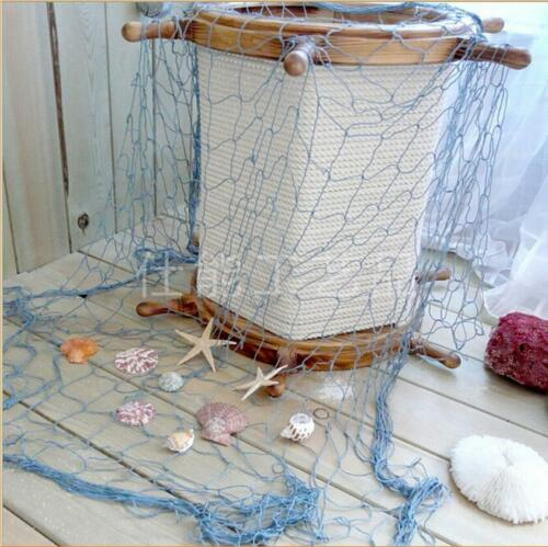 Fishing Net Mediterranean Style Beach Scene Party Decoration Net KV