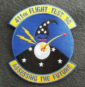 USAF 411th FLIGHT TEST SQUADRON F22 RAPTOR - Northrop YF-23 Edwards AFB Patch