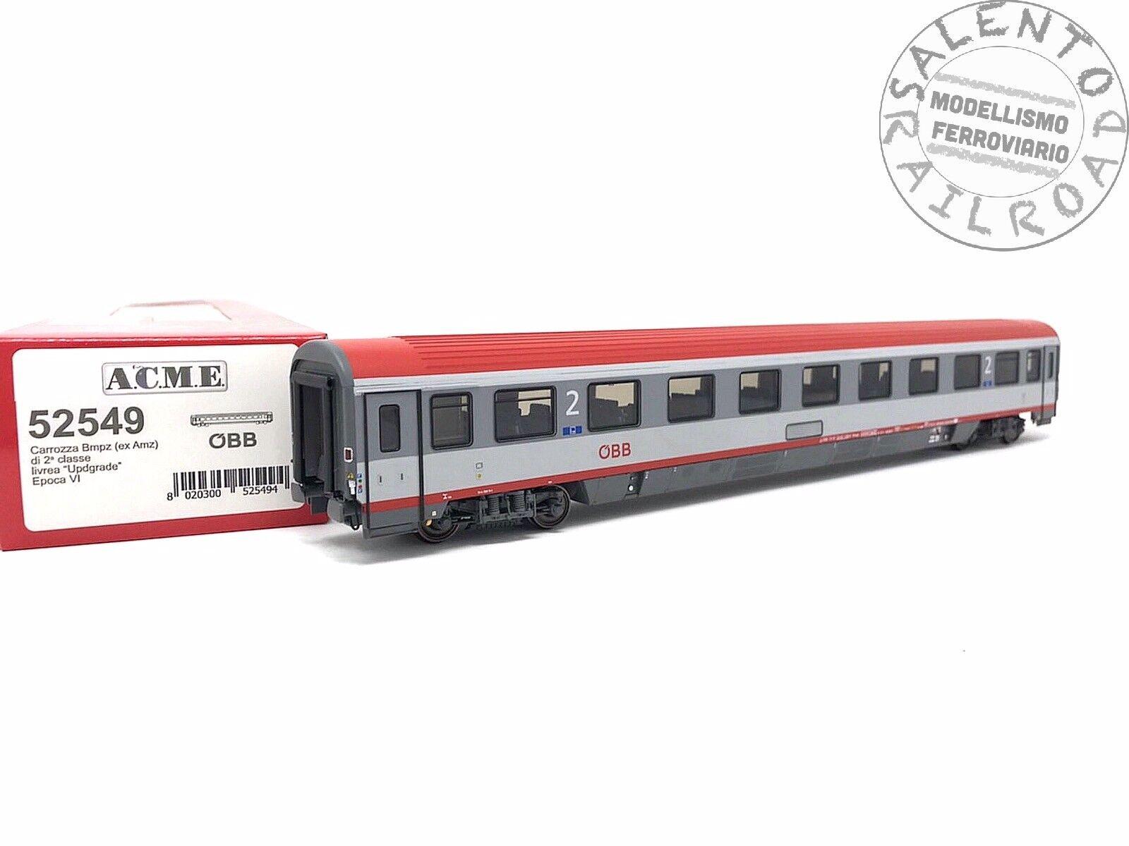 ACME 52549 carrozza passeggeri OBB EC89 a salone Bmpz 2° classe ep VI