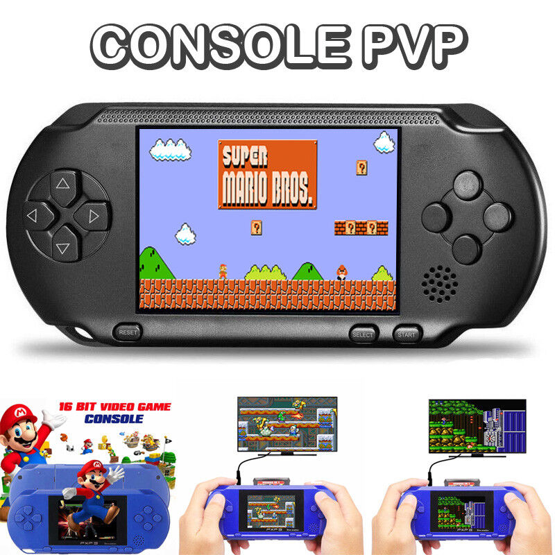 videogiochi e console: CONSOLE PORTATILE PVP STATION GIOCHI VIDEOGIOCO DISPLAY LCD VIDEO GAME BOY GIRL