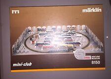 Marklin Mini-Club 8150 Starter Set Musem  Tender Steam Locomotive B89 plus cars