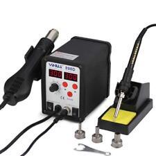 2 In 1 Hot Air Solder Iron Heat Gun Desoldering Station Power Supply 700w 110v