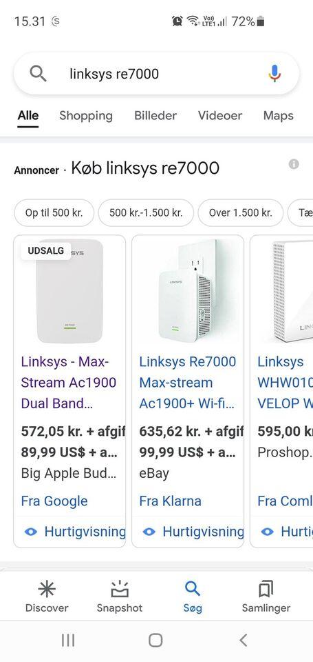 Repeater, wireless, Linksys