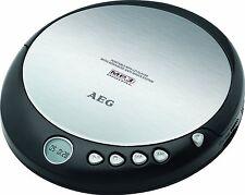 AEG CDP 4226 DISCMAN CD PLAYER TRAGBAR MP3 KOMPATIBEL BATTERIEBETRIE  SCHWARZ