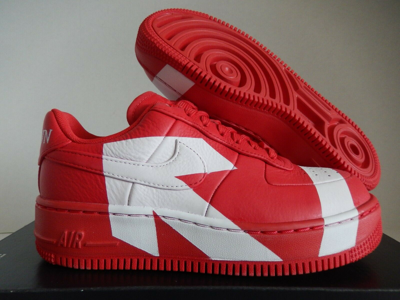 WMNS NIKE AIR FORCE 1 AF1 UPSTEP LX UNIVERSITY RED SZ 6.5  UPTOWN  [898421-601]