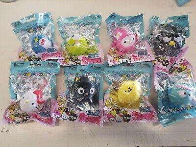 NEW Series 2 SCENTED Sanrio Squishme Squishy Stress ROUND Ball #1 Hello Kitty