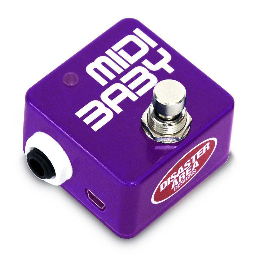 Disaster Area Designs MIDI Baby Tiny Programmable MIDI Controller Grape