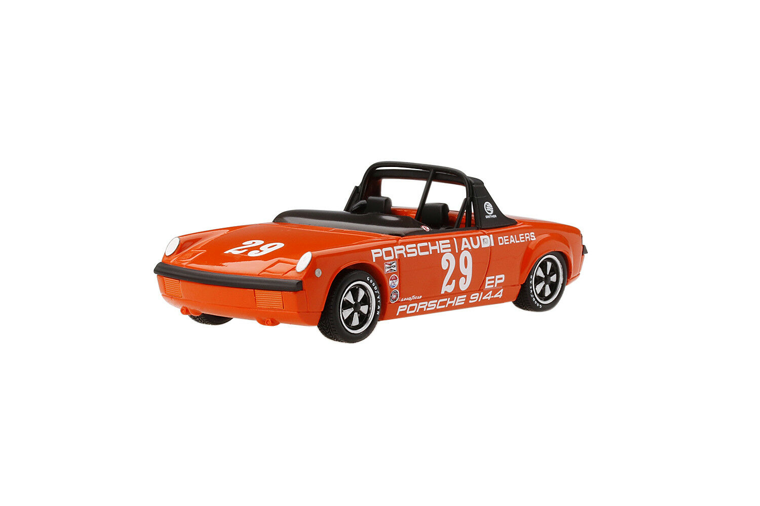 PORSCHE 914-4 R. GINTHER 1972 AMERICAN ROAD RACE 1 1 1 43 MODEL BY TSM 164338 581743