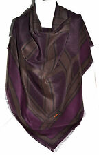 BURBERRY ORIGINAL XXL TUCH SCARF SCHAL Carré платок 100% SILK 118 x 118 NP 279 €