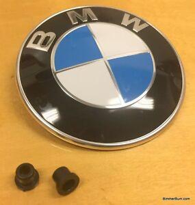 Bmw Trunk Emblem Factory Part W Grommets E85 Z4 2 5i 3 0i