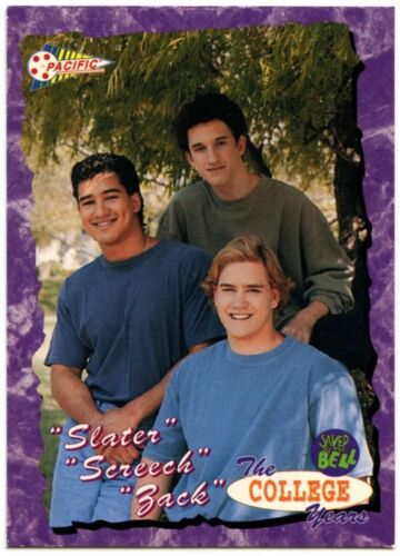 C1516 The Boys #94 Saved By The Bell The College Years 1994 Pacific Trade Card