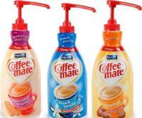 Nestlé Coffee-mate Various Flavors Liquid Creamer 1.5l Pump Bottle|no Sales Tax|