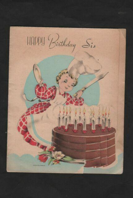 Amazing Happy Birthday Cake Pop Up Greeting Card For Sale Online Ebay Funny Birthday Cards Online Kookostrdamsfinfo