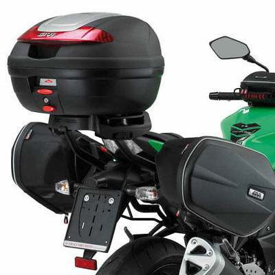 Accurato Givi Telaietti Easylock Distanziatori Borse Laterali Te265 Kawasaki Z 750 07/11 Volume Grande
