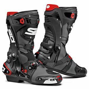 Sidi-Rex-CE-Motorbike-Motorcycle-Boots-Grey-Black