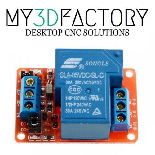 Relais Arduino high//low level trigger FC-65 SLA-05VDC-SL-C 30A  220V