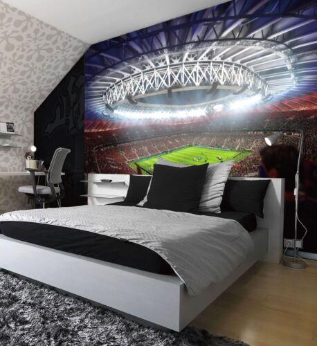 FIFA Football Stadium Pitch Sport Wall Mural Photo Wallpaper Kids Game Home Deco