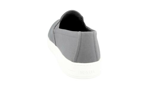 40 5 40 Gabardine Grau Schuhe 7 New Prada Sneaker 3s5802 Uk Luxus Neu nqva6Axw