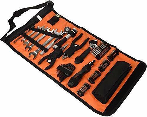 Noir Et Decker A7144-XJ Handy Roll-up Outil Sac Avec Automobile Outils Kit Voiture