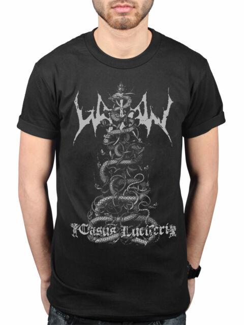 Official Watain Casus Luciferi T-Shirt Swedish Black Metal Band Outlaw Merch
