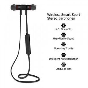 XT-6-Bluetooth-Inalambrico-Auriculares-Metal-magnetico-Deportivo