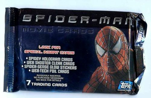 SPIDERMAN de 7 Cartes BOOSTER