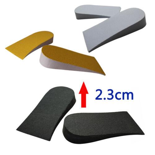Unisex Light Taller Heel Lift Shoe Pads Increase Height Shoe Insoles Inner Sole