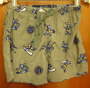 LIFE IS GOOD Skiing youth lrg pajama shorts New England kids beat-up ... 2e08bf908