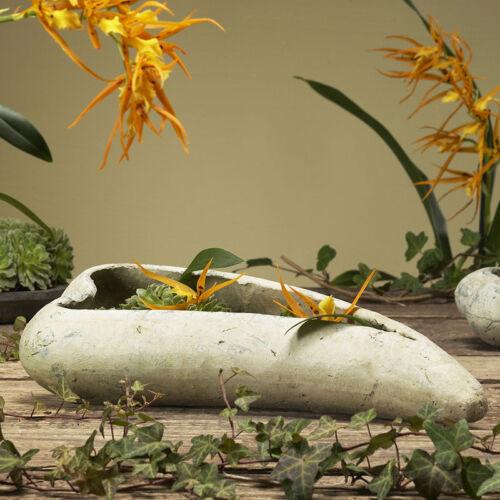 Schale Herz Keramik  Bepflanzen Deko Garten Innedeko Ausendekoration Tischdeko