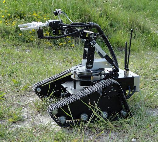 Robot oruga Educación Ex Demo