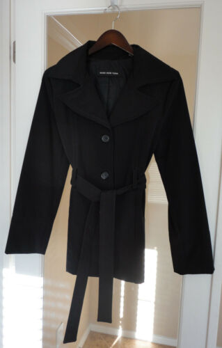 Sort Regn Large Coat New York Beautiful Lined Trench Marc Kort wqESUnH