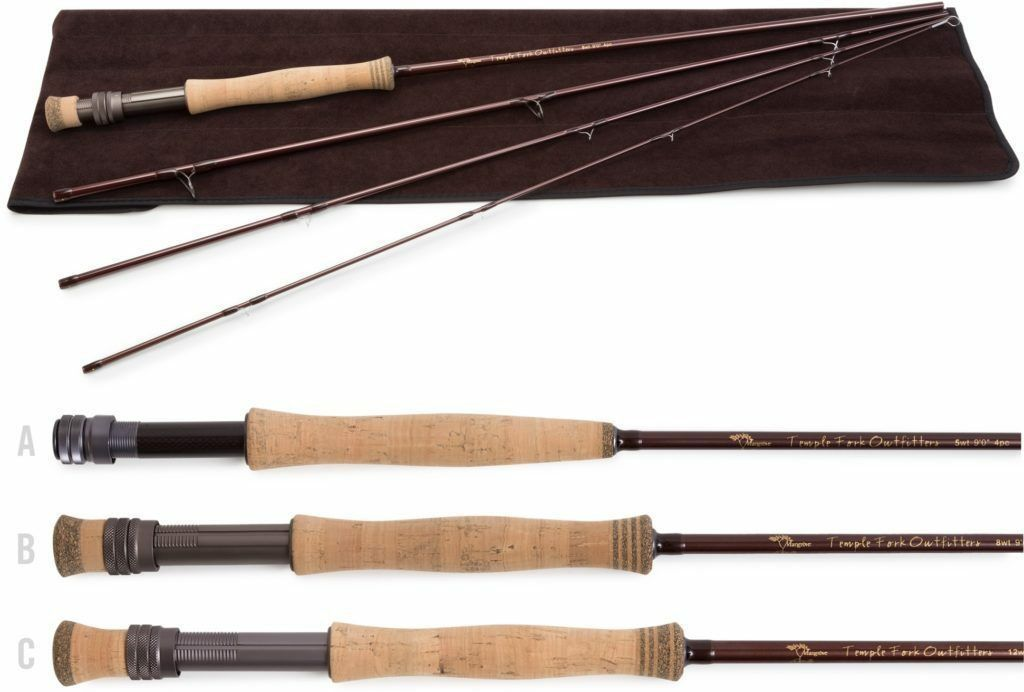 Temple Fork Mangrove Fly Rod 8 wt. 9'0  4 pc.