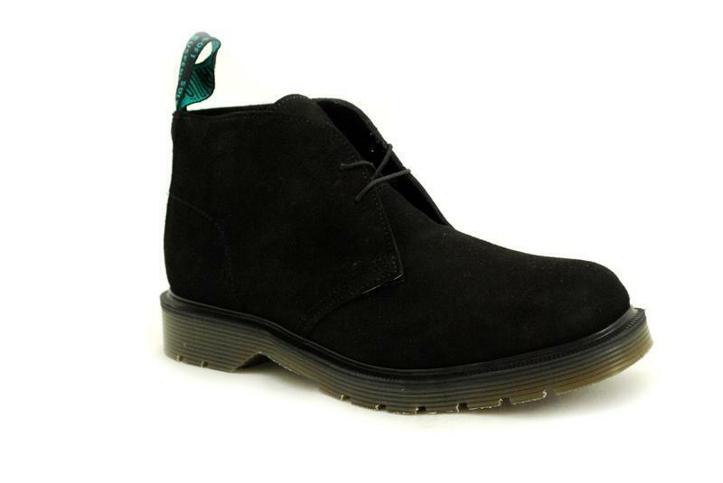 Solovair NPS Chaussure s made in England 2 Eye s003-7322bks Chukka Black suede s003-7322bks Eye 6c0c93