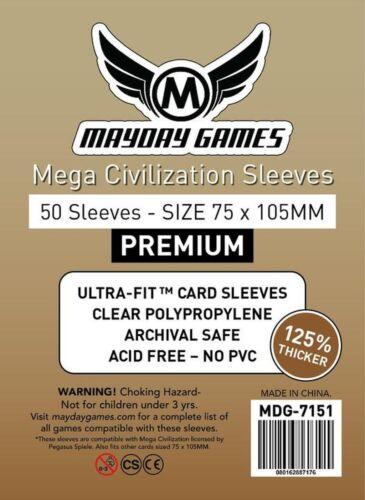 MDG7151 50 Premium MEGA civiltà maniche 75x105mm