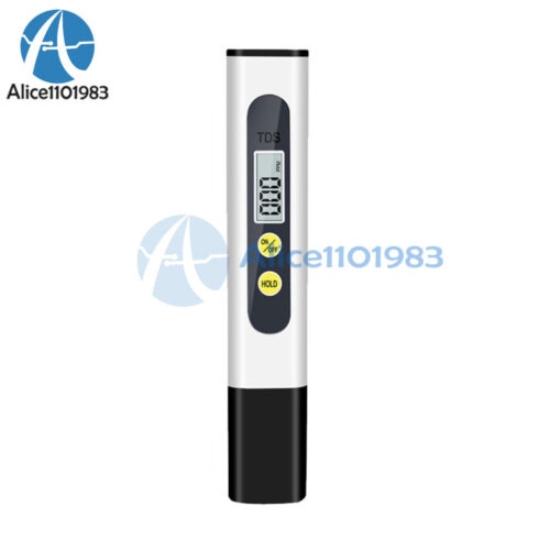 Mini Portable Water Purity Test Tool TDS Water Test Pen Water Quality Analyzer