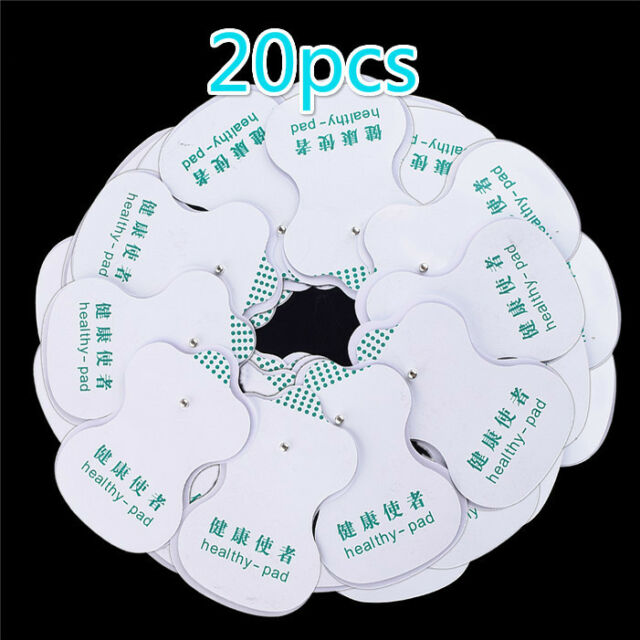 20X Electrode Pads For Tens Acupuncture Digital Therapy  Machine Massager PT