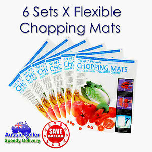 6-Sets-12pc-Plastic-Kitchen-Cutting-Chopping-Vegetable-Fruit-Mat-Board-38-x-30